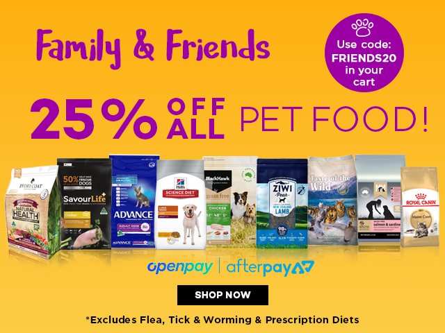 Family & Friends Sale 20% off Food