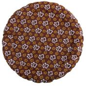 Charlie's Cooling Round Dog Bed Pawtton Print