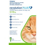 Revolution Plus for Cats 5 - 10kg Large Green