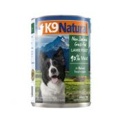 K9 Natural Canned Lamb Feast Dog Food 12x370g