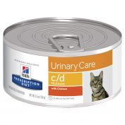 Hill's Prescription Diet c/d Multicare Urinary Care Canned Cat Food 24x156g