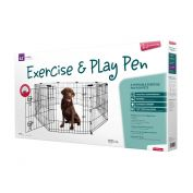 Yours Droolly Dog Exercise Pen With Door