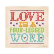 Thirstystone Love Is A Four Legged Word Coaster