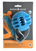Rufus & Coco Treat Me Fly Dog Toy Blue