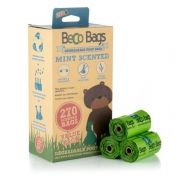 Beco Pets Mint Scented Degradable Dog Poop Bags