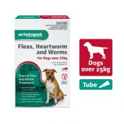 Aristopet Flea, Heartworm, Worms Spot On for Dogs Over 25kg