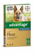 Advantage Flea Treatment for Extra Large Dogs over 25kg
