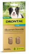 Drontal Allwormer Chewables for Medium Dogs up to 10kg