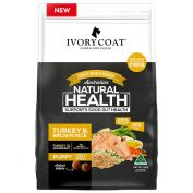 Ivory Coat Large Breed Puppy Turkey & Brown Rice Dry Dog Food 18kg