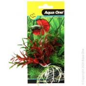 Aqua One Bettascape Pilea On Sphere Red And Green