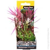 Aqua One Bettascape Spider Leaves On Driftwood Pink
