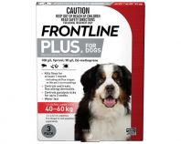 Frontline Plus Pack of 3 Dog 40-60kg Extra Large Red