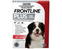 Frontline Plus Pack of 6 Dog 40-60kg Extra Large Red