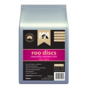 Meals For Mutts Roo Discs Dog Treats 200g