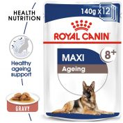 Royal Canin Canine Maxi Ageing +8 Wet Dog Food 10x140g