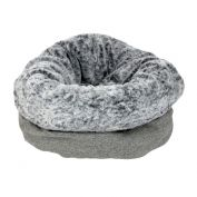 T & S Bag To Bed Moonlight Grey Dog Bed