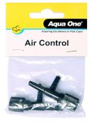 Aqua One Air Line Control Valve 2 Pack