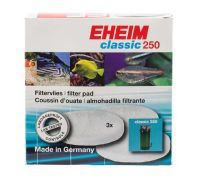 Eheim Fish White Wool Filter Pad For External Filter 2213 3 Pack