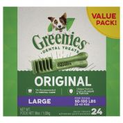 Greenies Dental Dog Treats Value Pack Large 1kg
