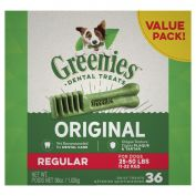 Greenies Dental Dog Treats Value Pack Regular 1kg