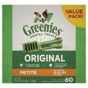 Greenies Dental Dog Treats Value Pack Petite 1kg