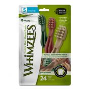 Whimzees Toothbrush Star Dog Treat Small 24 Pack