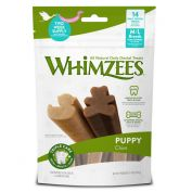 Whimzees Puppy Dog Treat Extra Medium 14 Pack