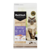 Black Hawk Cat Food Grain Free Duck & Fish