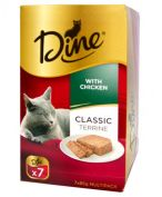 Dine Classic Terrine with Chicken 7x85g