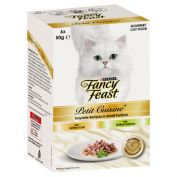 Fancy Feast Petit Cuisine Cat Food Cod & Salmon 6x50g