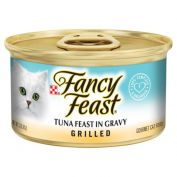Fancy Feast Grilled Tuna Feast in Gravy Wet Cat Food 24x85g