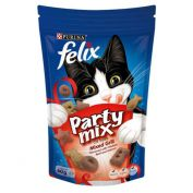 Felix Party Mix Mixed Grill Adult Cat Treat 60g