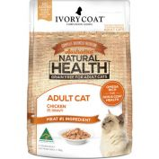 Ivory Coat Adult Chicken in Gravy Wet Cat Food 12x85g
