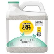 Tidy Cats Free & Clean Unscented Clumping Cat Litter 6.35kg