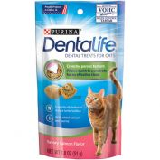 Dentalife Daily Oral Care Dental Cat Treats Salmon 51g