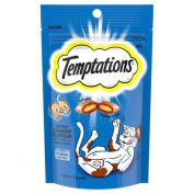 Temptations Savoury Salmon Cat Treat 85g