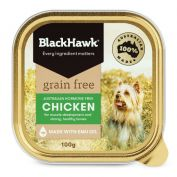 Black Hawk Grain Free Chicken Dog Wet Food 9x100g