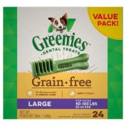 Greenies Dental Dog Treats Grain Free Value Pack Large 1kg