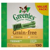 Greenies Dental Dog Treats Grain Free Value Pack Teenie 1kg