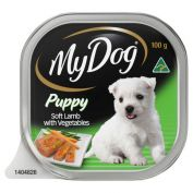 My Dog Puppy Lamb & Vegetable Wet Dog Food 12x100g