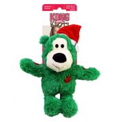 KONG Christmas Wild Knots Bear Dog Toy Small