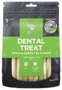 Billy & Margot Apple & Green Tea Large Dental Dog Treat 5 Pack