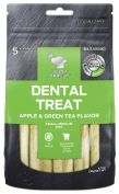 Billy & Margot Apple & Green Tea Small & Medium Dental Dog Treat 5 Pack