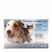 Capstar Flea Treatment Tablet 11.4mg Pack of 6