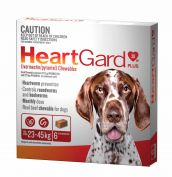Heartgard Plus for Dogs 23-45kg Pack of 6