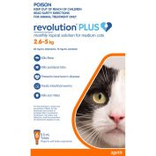 Revolution Plus for Cats 2.5 - 5kg  Medium Orange