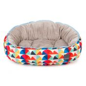FuzzYard Dog Bed Boogie Multicolour Geometric