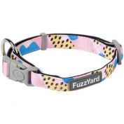 FuzzYard Dog Collar Jiggy Pink