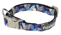 FuzzYard Mahalo Blue Dog Collar
