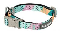 FuzzYard Footloose Teal Dog Collar